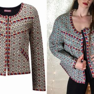 Joe Browns Quilted Bohemian Embroidered Jacket
